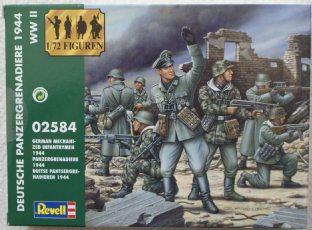 Revell 1/72 RV02584 German Panzer Grenadiers 1944-45 (WW2)